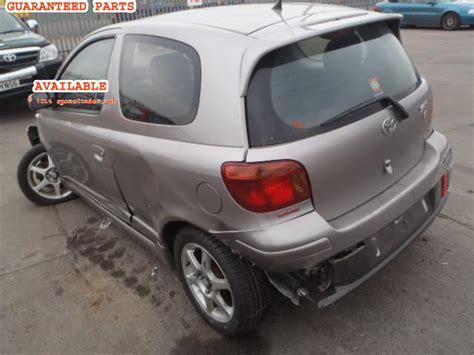 Spare Part Toyota Yaris toyota yaris breakers yaris t sport dismantlers
