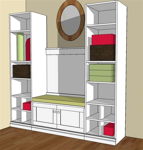 mudroom plans ana white cutest mudroom diy projects