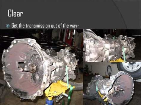 how to remove manual transmission on a 1995 mitsubishi rvr toyota pickup 1995 clutch replacement youtube
