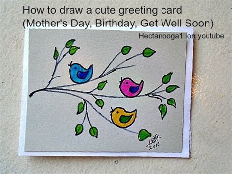 how to make ab day card diy greeting card how to draw a s day card