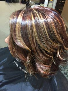 painting lowlights on gray hair balayage hair bronde blonde dimensional highlights