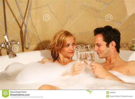 couples in bathroom lovely couple in bath stock photography image 3346952