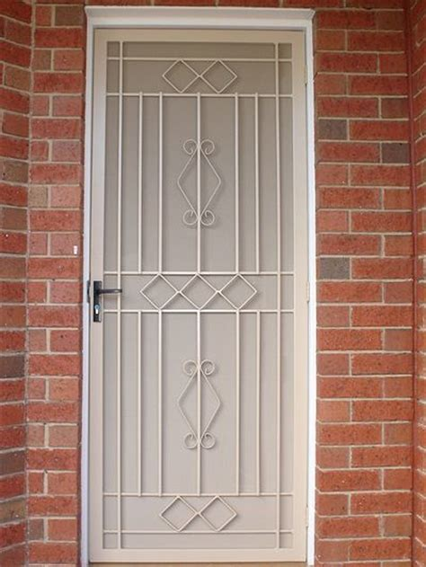 Metal Security Doors by Steel Security Doors Sacramento Screen Doors Goodwin Cole