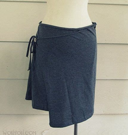 pattern for t shirt skirt tutorial t shirt wrap skirt refashion fashion pinterest