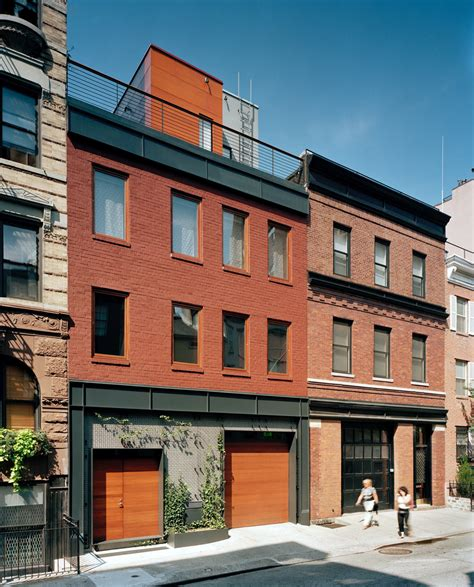Townhouse Garage by A Parking Garage Becomes A Nyc Townhouse With Drama