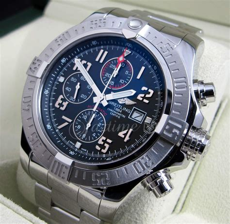 breitling a13371 avenger ii black 187 for sale