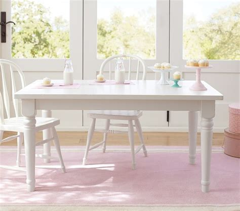 White Farmhouse Table And Chairs by Farmhouse Large Table Simply White Traditional