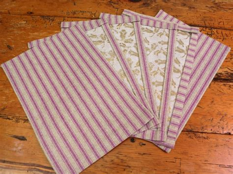 table runner with placemats easy method for a no sew table runner and placemats