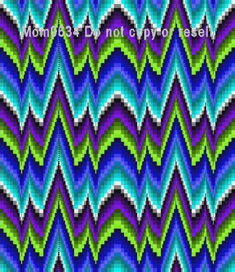 Northern Lights Quilt Pattern Free by Free Northern Lights Bargello Quilt Pattern Pdf File