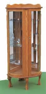 Amish Corner Curio Cabinet Ohio Amish Furniture Index Arts In Heaven