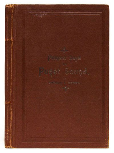 pioneer days on puget sound classic reprint books vialibri 401541 books from 1888