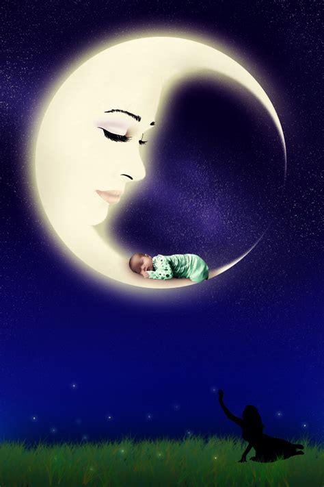 imagenes surrealistas de la luna hijo de la luna by zania85 on deviantart