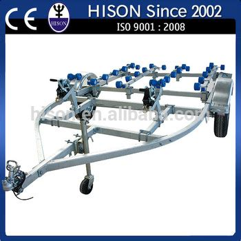 brands of boat trailers china leading pwc brand hison jetski boat trailer buy
