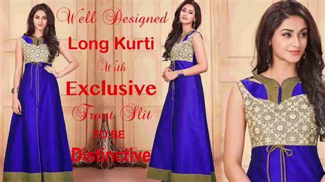 karachi pattern long kurti designer long kurtis designs party wear pakistani long