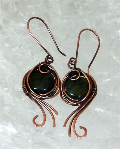 Handmade Wire Earrings - earrings handmade wire jewelry ideas