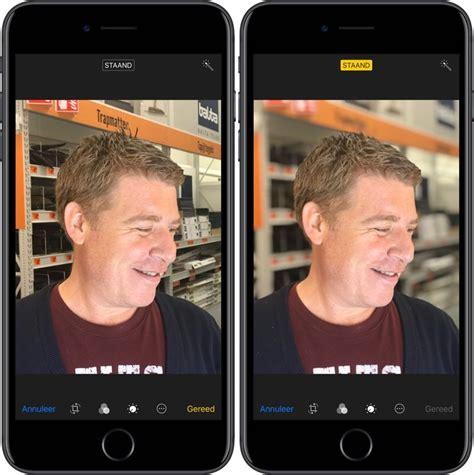 portretbelichting op de iphone   en iphone  zo werkt het