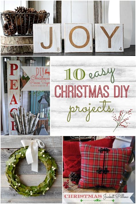 easy diy home projects 10 easy diy christmas projects home stories a to z