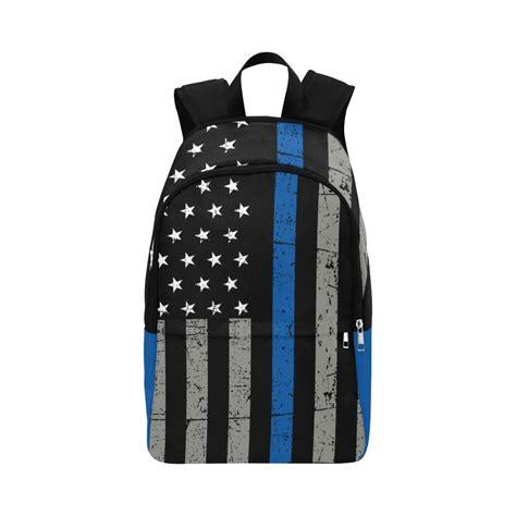 Line Backpack thin blue line backpack