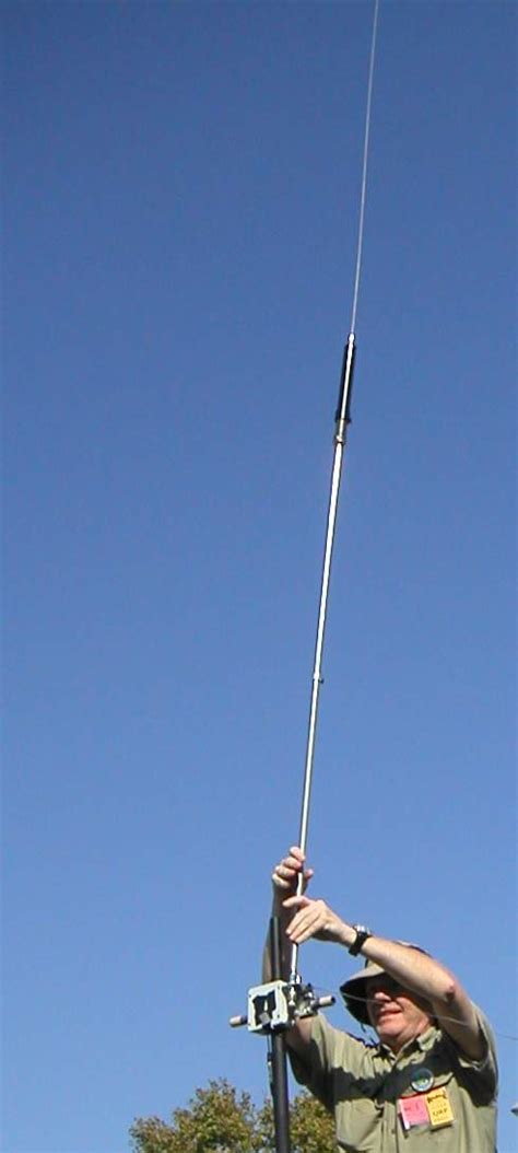 Antena Superstick Hfpack Vertical Pedestrian Antenna Shootout 2002 Vertical