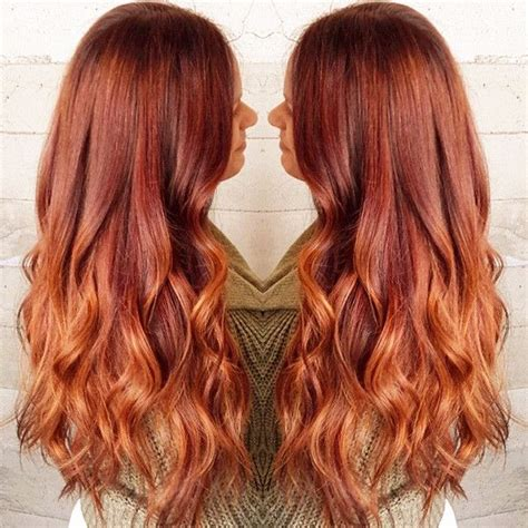 hair coloring ginger copper 10 shades of red more choices to dye your hair red