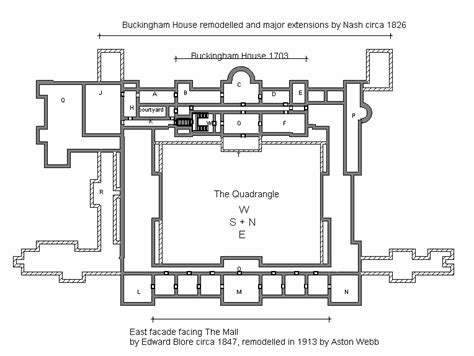fishbourne palace floor plan file plan of buckingham palace gif