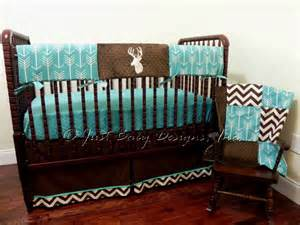 Boy Nursery Bedding Set Deer Crib Bedding Set Boy Baby Bedding Crib Rail Cover