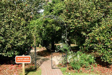 Garden Arbor Path Garden Arbor Along Path