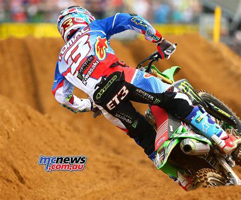 motocross ama ken roczen wins redbud ahead of eli tomac mcnews com au