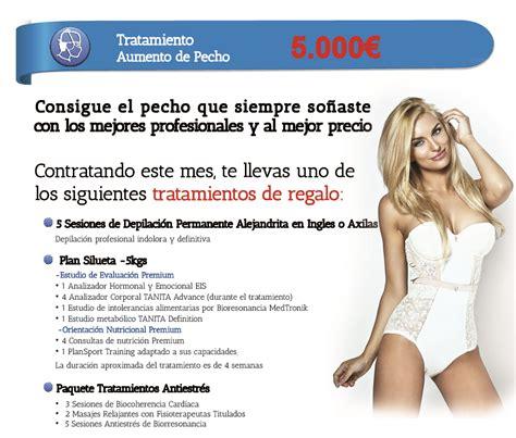 aumento de pecho aumento de pecho mamoplastia de aumento oferta