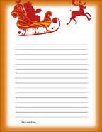 Free Christmas Writing Paper Free Printable Primary Writing Paper For Dear Santa