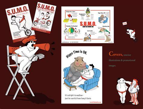 S U M O Shut Up Move On Oleh Paul Mcgee illustration portfolio