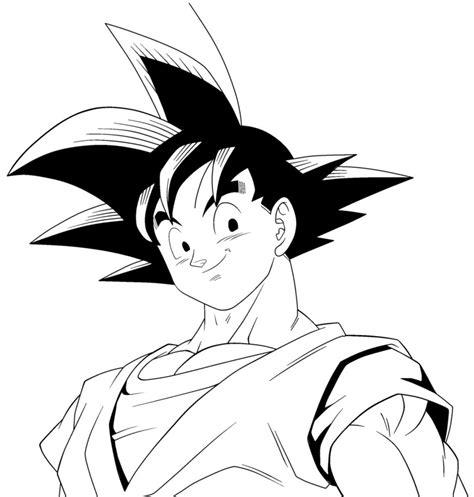 Imagenes De Goku Para Colorear | goku para colorear by noakuz on deviantart
