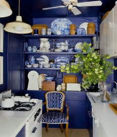 Blue Kitchen Decor by Blue And White Kitchen Decoration Decozilla