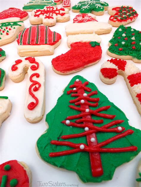 christmas cookies best decoration decorating cookies two