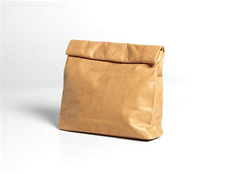 Folded Paper Bag - bagged lunch autre magazine
