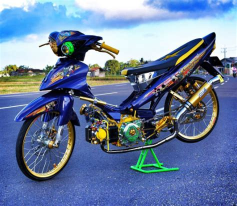 Modifikasi Jupiter Z by Gambar Modifikasi Yamaha Jupiter Z Thailook Style
