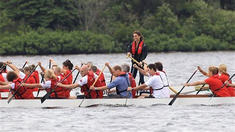 crash dragon boat race prince william crash lands canadian helicopter herald sun
