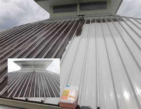 how to clean metal awnings roof cleaning contractors gold coast hinterland area