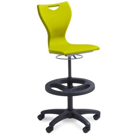 Gas Lift Stool On Wheels by Labzest Lab Stool Gas Lift With Wheels Westlab
