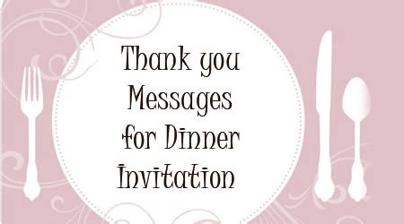 thank you quotes for dinner quotesgram