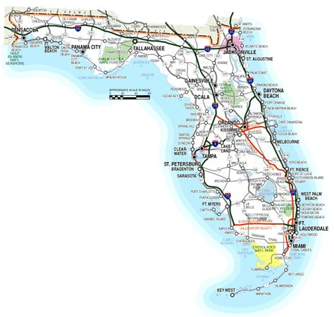 state of florida map narrow your search on florida marine guide
