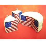 Clay Made Easy American Flag Pattern Cake  YouTube