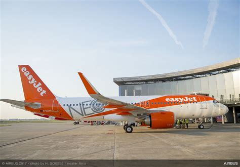 Easy Jr easyjet receives of 130 a320neo aircraft