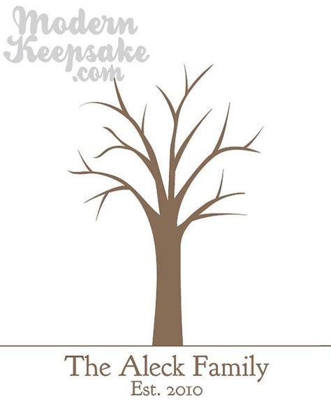 thumbprint family tree template thumbprint family tree template free template