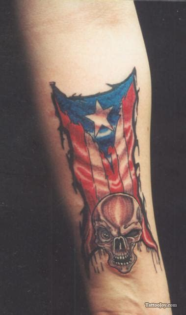 puerto rican tattoos for men amazing skull on inner arm