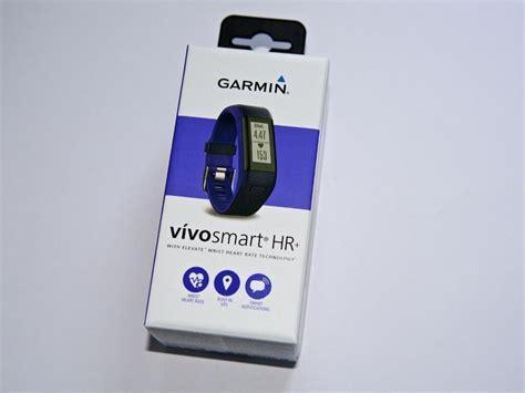 garmin vivosmart hr plus fitness tracker with hr gps