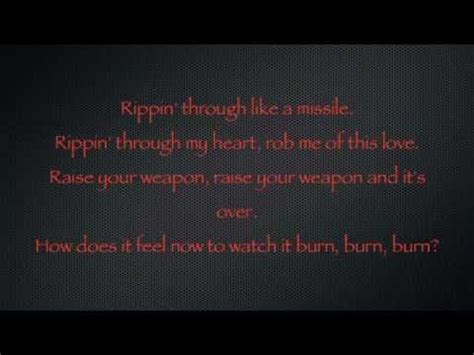 you and i deadmau lyrics deadmau5 raise your weapon lyrics youtube