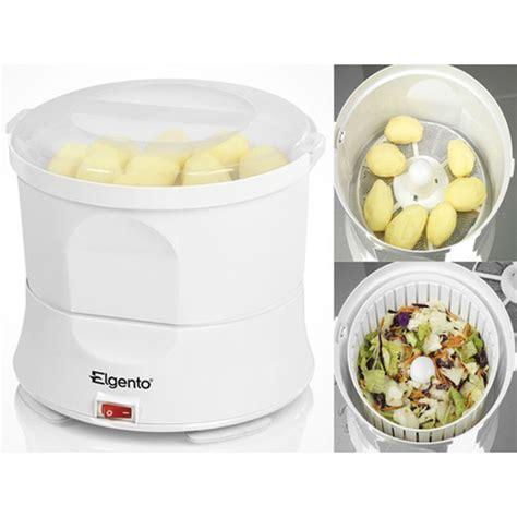 Fackelmann Spin Peeler 2 In 1 brand new elgento white automatic electric potato peeler