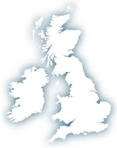 Simple Uk Outline by Outline Map Of Britain Royalty Free Editable Vector Map