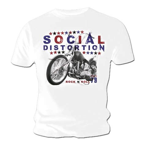 official t shirt social distortion 79 vintage rock n roll
